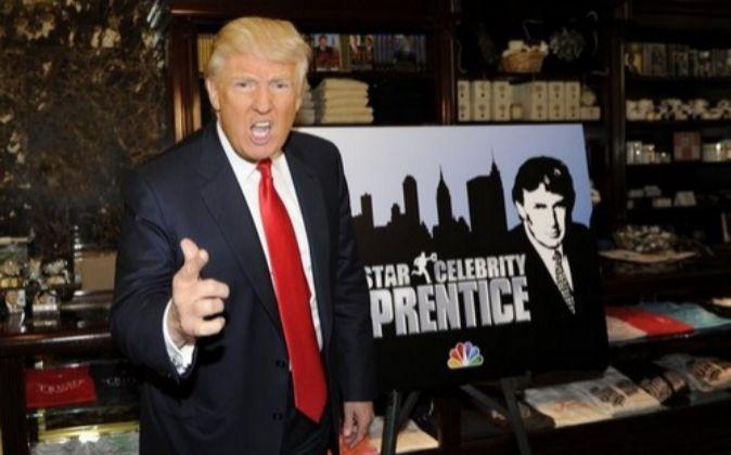 ESTÁS DESPEDIDO... Donald Trump protagonizó en la cadena NBC...