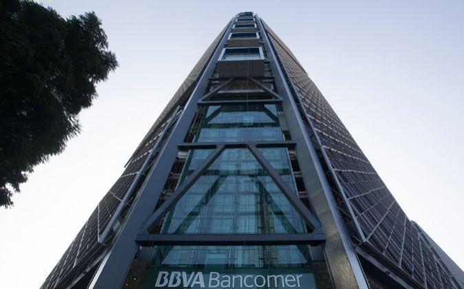 Imagen de la sede de BBVA en México