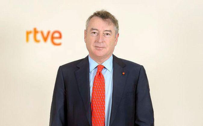 José Antonio Sánchez, presidente de la Corporación RTVE.