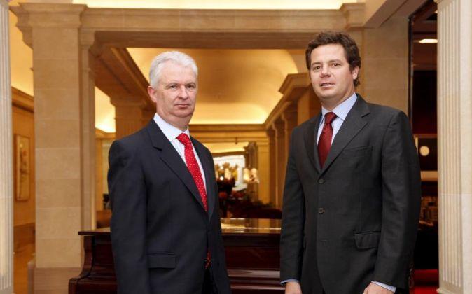 José Luis Pardo, director general de Vithas y Jorge Gallardo Piqué,...