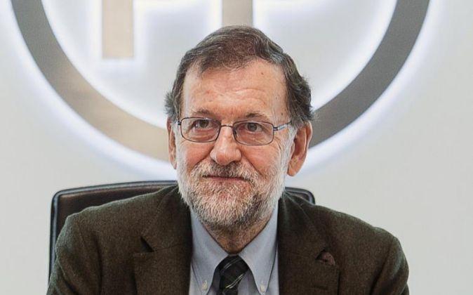 El presidente del Gobierno y del Partido Popular, Mariano Rajoy.