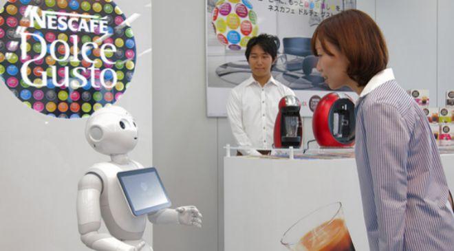 El robot asistente Pepper de Nescafé Dolce Gusto
