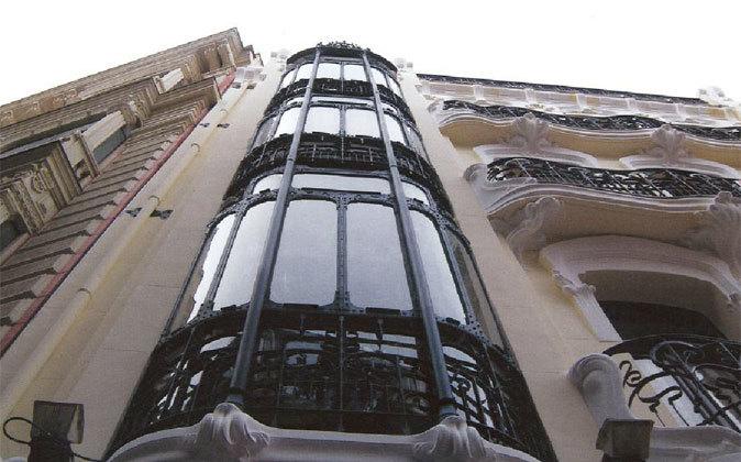 Edificio en Madrid.
