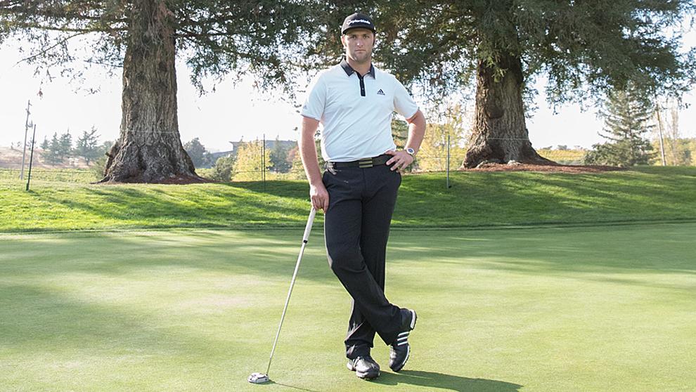 El golfista Jon Rahm en Silverado (Napa, California)