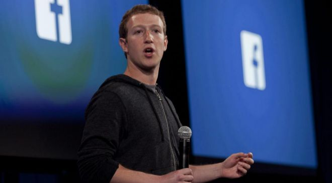 El co fundador y CEO de Facebook Mark Zuckerberg.