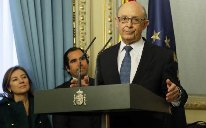 El ministro de Hacienda y Función Pública Cristóbal Montoro.