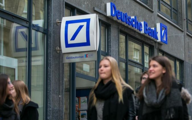 Sede de Deutsche Bank en Hamburgo, Alemania.