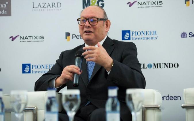 El presidente de Inverco, Mariano Rabadan.