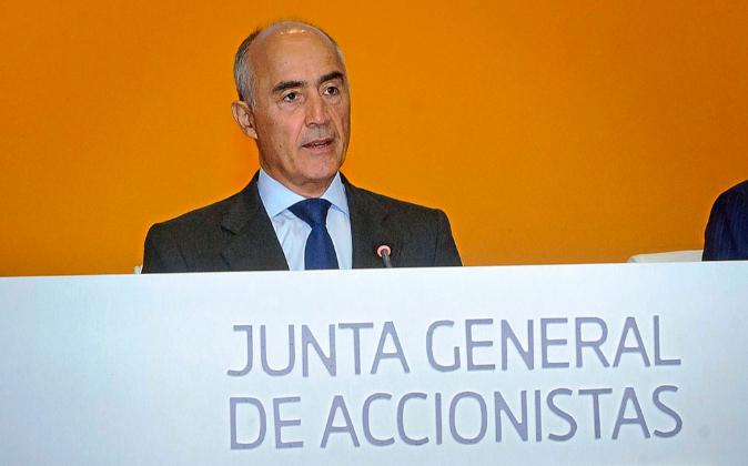 El presidente de Ferrovial, Rafael del Pino.