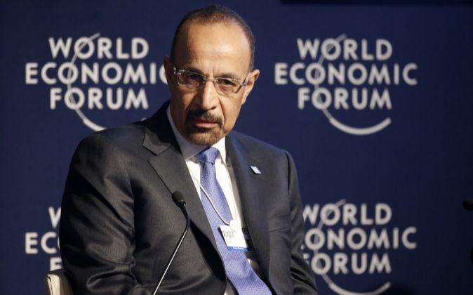 El ministro saudí de Energía, Khalid A. Al Falih.