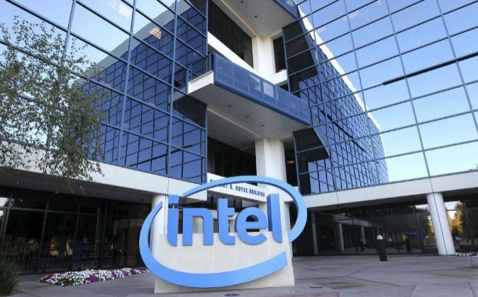 Sede de la corporación Intel, en Santa Clara, California, EE. UU.