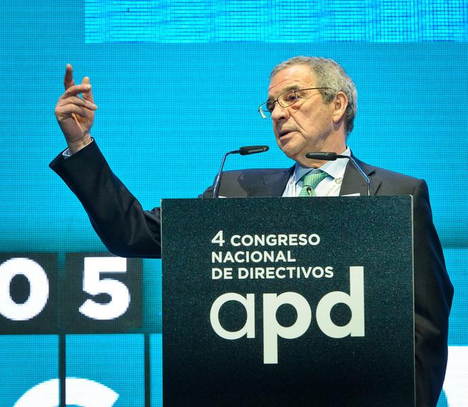 El presidente de la Fundación Telefónica, César Alierta, en la...