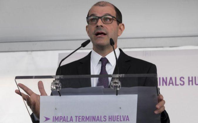 El director general de Impala Terminals Group, Nicolas Konialidis.