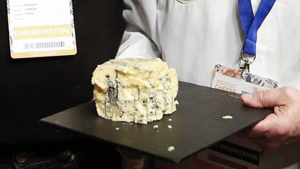 Kraftkar, un queso azul de Noruega ha sido proclamado como el mejor...
