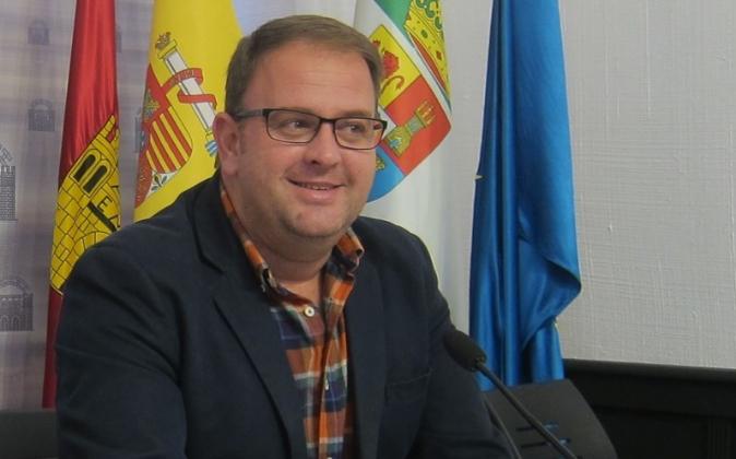 El alcalde de Mérida, Antonio Rodríguez Osuna.