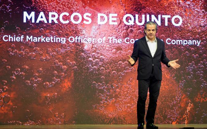 Marcos de Quinto, vicepresidente ejecutivo y director general de...