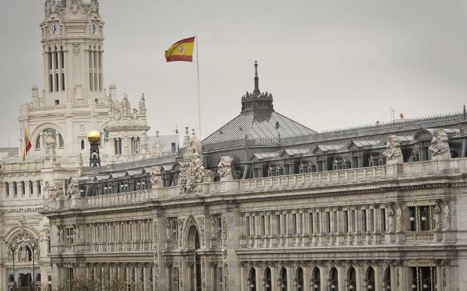 Sede del Banco de España en la Plaza de Cibeles de Madrid.