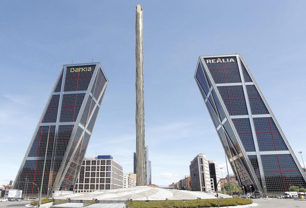Vista de la sede de Bankia en Madrid.