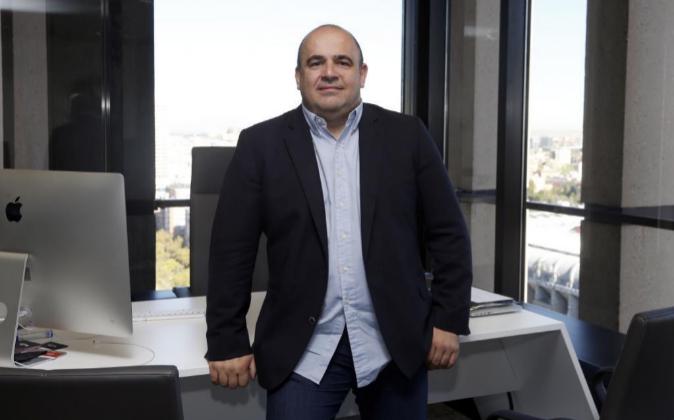 Carlos Blanco, creador e impulsor de nuevas 'start up'.