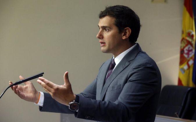 El presidente de Ciudadanos Albert Rivera.