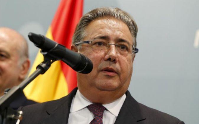 El ministro del Interior Juan Ignacio Zoido.