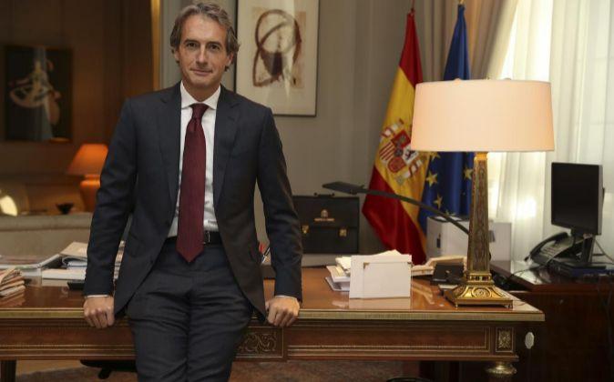 El nuevo ministro de Fomento Íñigo de la Serna.