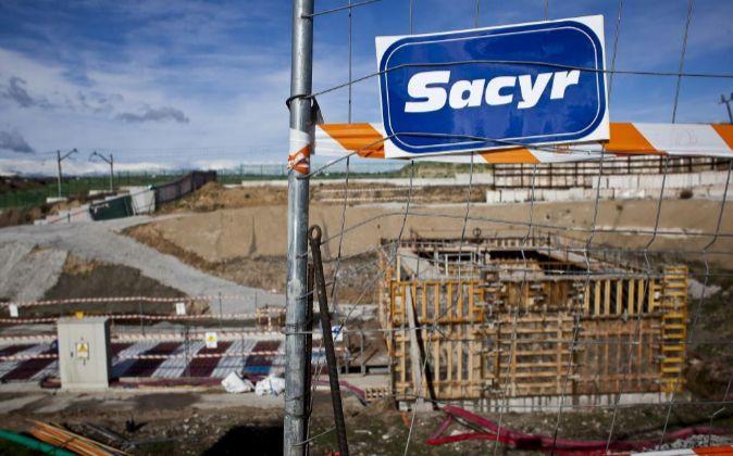 Obras de Sacyr en Madrid.