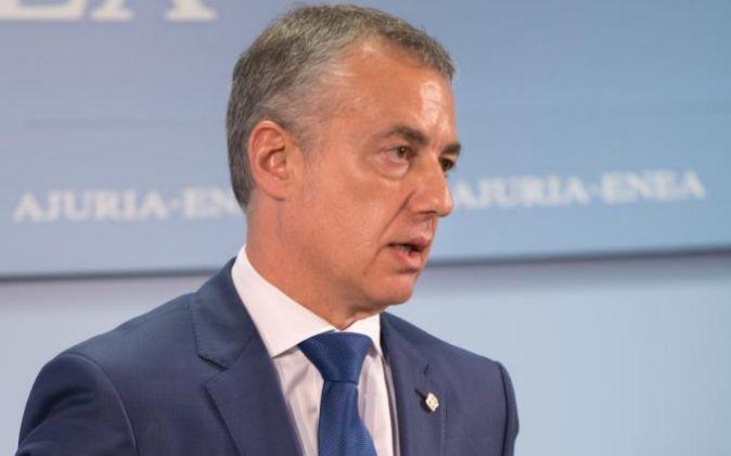 El lehendakari vasco, Íñigo Urkullu.