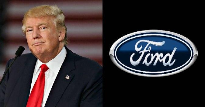 Trump se atribuye el logro de que Ford siga produciendo en Estados...