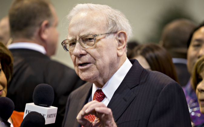 El inversor Warren Buffett.