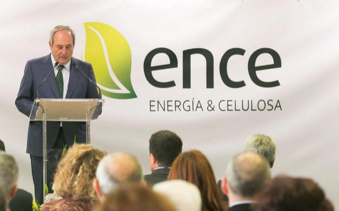 José Luis Arregui, presidente de Ence.
