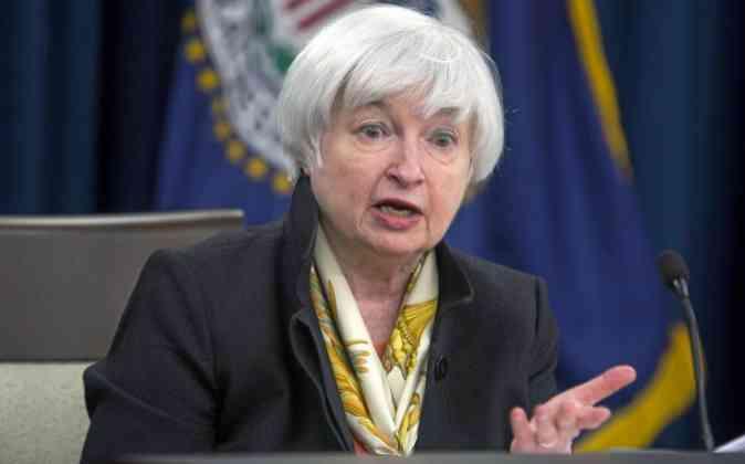 La presidenta de la Reserva Federal de Estados Unidos, Janet Yellen