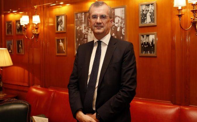 François Villeroy de Galhau, gobernador del Banco de Francia.