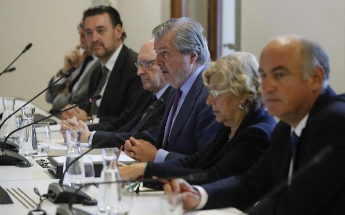 Intervención del ministro de Educación, Cultura y Deporte, Íñigo...
