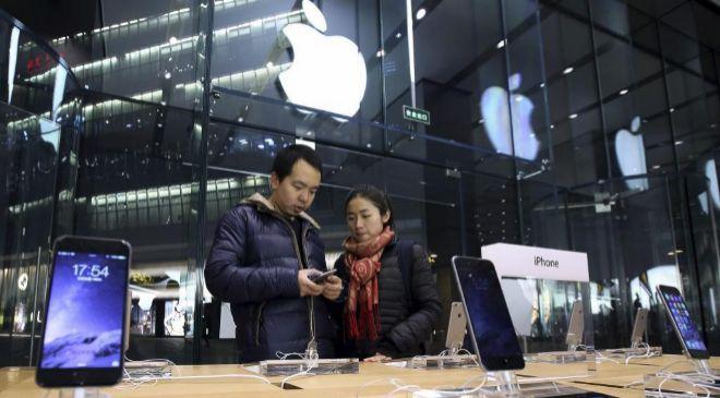 Tienda de Apple en China.