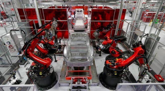 Fábrica de Tesla.