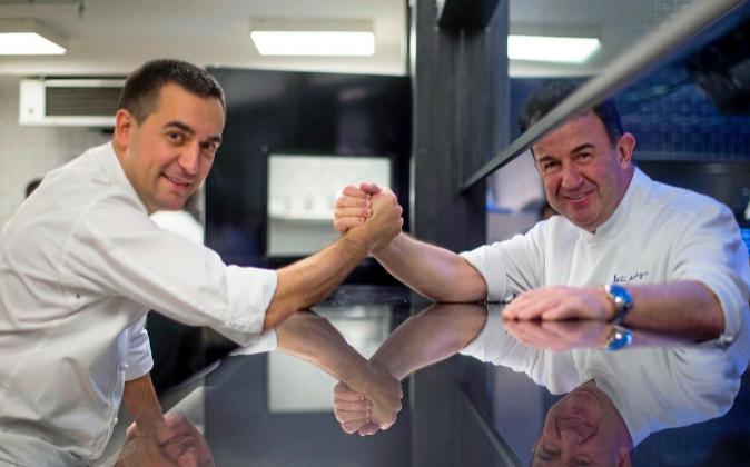 Paolo Casagrande dirige los fogones de Lasarte, proyecto de su mentor,...