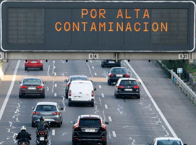 El protocolo de contaminación del Ayuntamiento de Madrid impone...