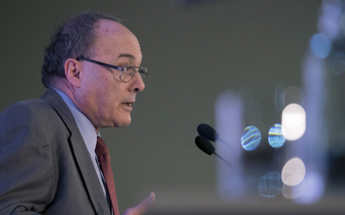 El gobernador del Banco de España, Luis M. Linde.