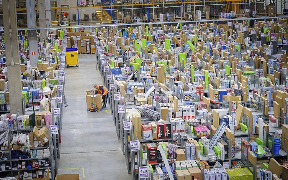Centro Logístico Amazon.es.