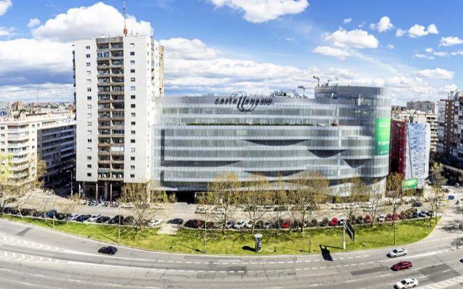 Castellana 200, en Madrid, complejo adquirido por el fondo canadiense...
