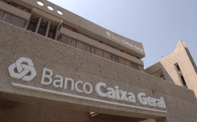 Vista de una sede de Banco Caixa Geral