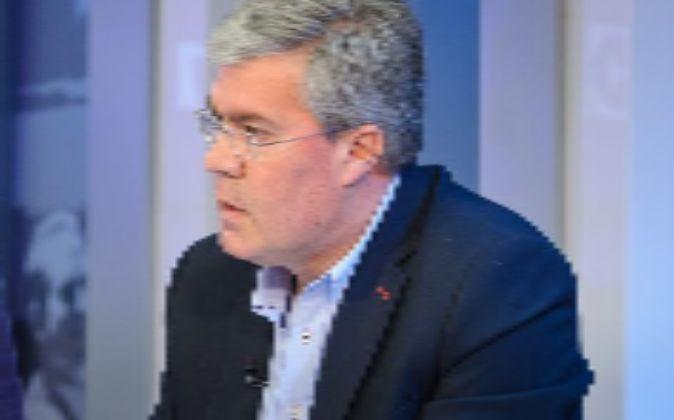 José Enrique Fernández de Moya , en un debate organizado por...