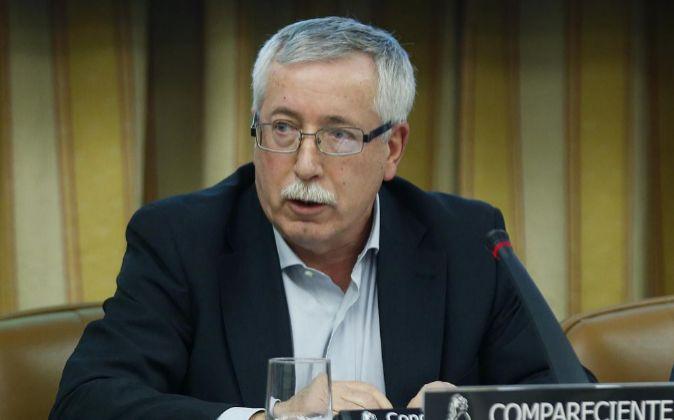 El secretario general de CCOO, Ignacio Fernández Toxo.