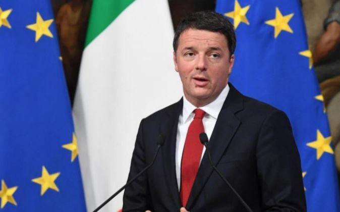El primer ministro italiano, Matteo Renzi.