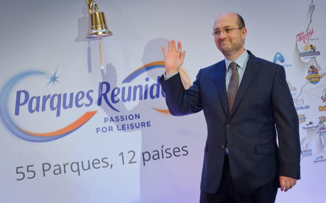 El presidente de Parques Reunidos, Fernando Eiroa.