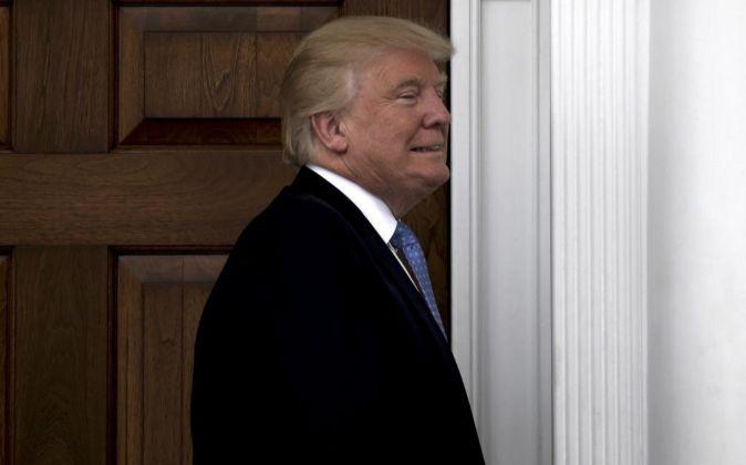 El presidente electo de los EEUU, Donald Trump.