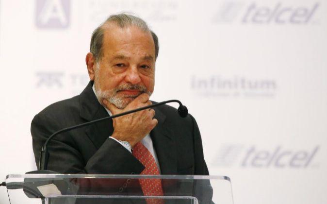 Carlos Slim, máximo accionista de FCC.