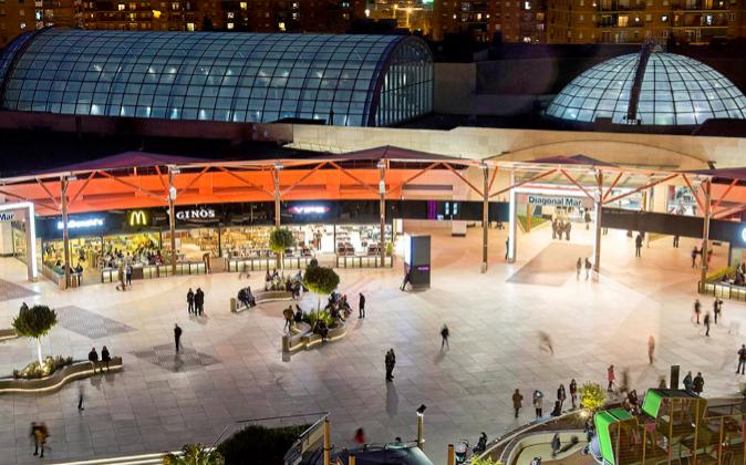 Centro comercial Diagonal Mar (Barcelona).