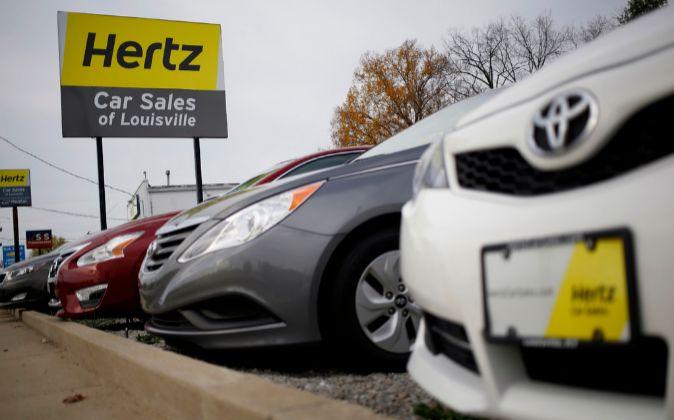 Centro de ventas de Hertz en Louisville, Kentucky.
